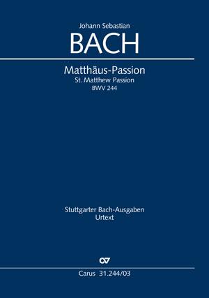 Bach, Matthäuspassion