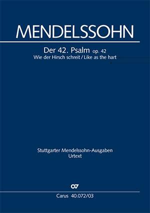 Mendelssohn, 42. Psalm