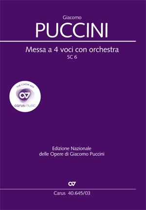 Puccini, Messa a 4 voci