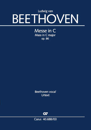 Beethoven, Messe in C-Dur