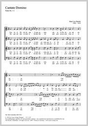 Hans Leo Hassler: Cantate Domino