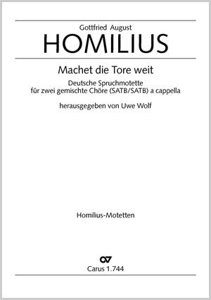 Gottfried August Homilius: Machet die Tore weit
