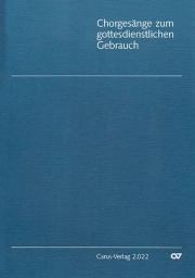 Chorgesänge zum gottesdienstlichen Gebrauch (Chorheft 9, Württ.)