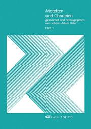 Motetten und Chorarien, Heft 1
