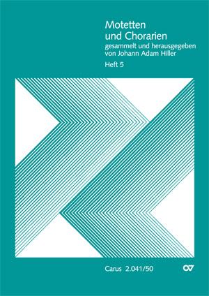 Motetten und Chorarien, Heft 5