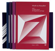 Musik zu Kasualien, Hefte 1-5