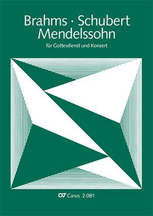 Choral collection Brahms, Mendelssohn, Schubert