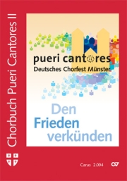 Chorbuch Pueri Cantores II