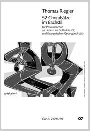 Riegler: 52 Choralsätze im Bachstil für Posauenchor