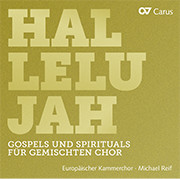 Hallelujah. Gospels and Spirituals for mixed choir