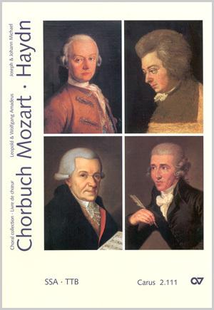 Chorbuch Mozart/Haydn I (geistliche Werke SSA / TTB)