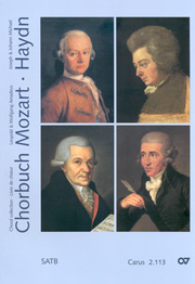 Chorbuch Mozart/Haydn III (geistliche Werke SATB)