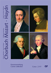Choral collection Mozart / Haydn, vol. VII. Collection of Canons