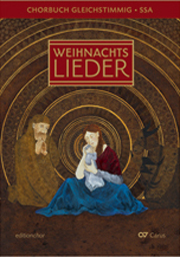 Advents- und Weihnachtslieder. Chorbuch für gleiche Stimmen. editionchor