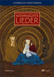 Advents- und Weihnachtslieder. Chorbuch 4stimmig. editionchor