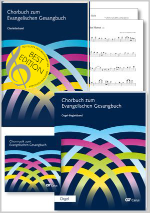 Choral collection for the German Evangelical Hymns. Package for choral directors