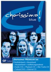 chorissimo! blue. Choral collection for equal voices. PREMIUM Set
