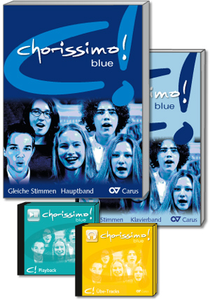 chorissimo! blue. Choral collection for equal voices. BASIS Set