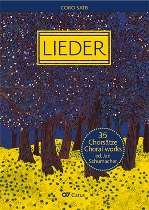 Lieder. Choral collection for mixed voices