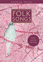 Folk songs choral collection