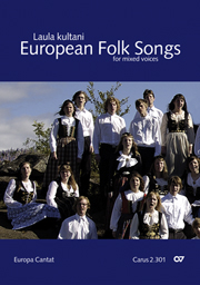 European Folksongs for mixed voices