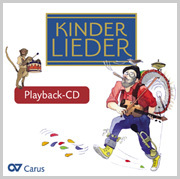 Kinderlieder: Playback-CD für die Band-Arrangements