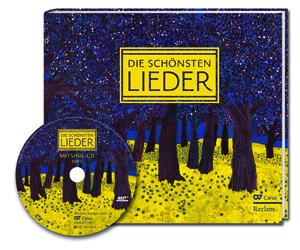 Die schönsten Lieder. Liederbuch mit Mitsing-CD