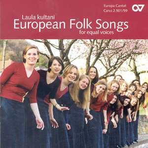 Choral collection European Folksongs (equal voices)