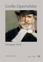 Choral collection Great Opera Choruses - Giuseppe Verdi (choir & piano)
