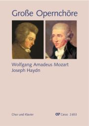 Choral collection Great Opera Choruses - Mozart · Haydn (choir & piano)