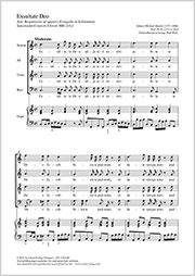 Johann Michael Haydn: Exsultate Deo