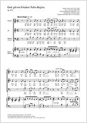Gabriel Fauré: Gott, gib uns Frieden