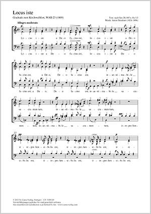 Anton Bruckner: Locus iste