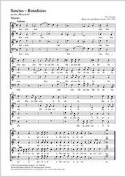 Giovanni Battista Casali: Sanctus - Benedictus