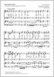 Johann Michael Haydn: Das Grab ist leer