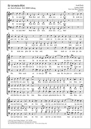 Johann Michael Haydn: Er ist mein Hirt