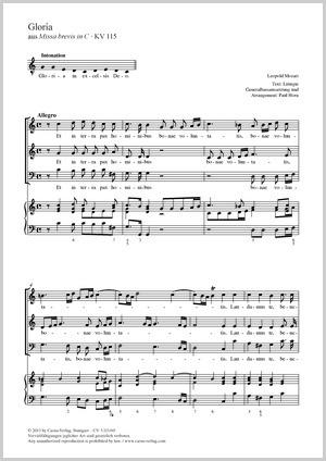 Leopold Mozart: Gloria