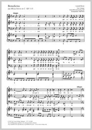 Leopold Mozart: Benedictus