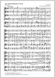 Joseph Haydn: Du chant de grâce à Dieu
