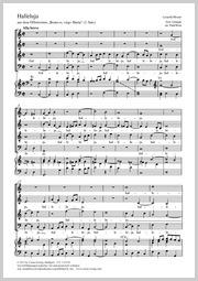Leopold Mozart: Halleluja