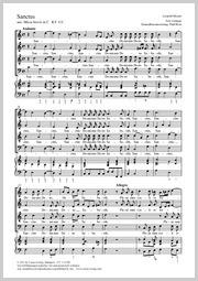 Leopold Mozart: Sanctus