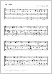 Claudio Monteverdi: Ave Maria