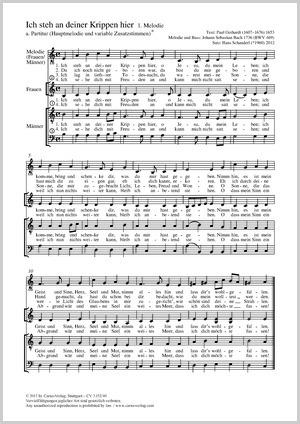 Johann Sebastian Bach: Ich steh an deiner Krippen hier