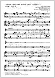 Georg Friedrich Händel: Kommet, ihr verirrten Sünder