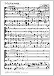 Georg Friedrich Händel: Ihr Schall gehet aus