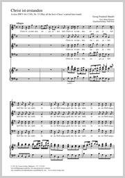 Georg Friedrich Händel: Christ ist erstanden