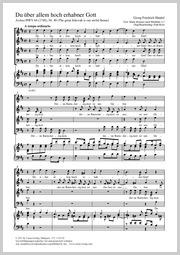 Georg Friedrich Händel: Du über Allem hoch erhab'ner Gott