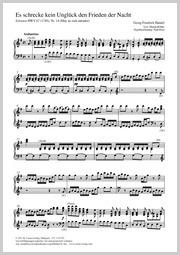Georg Friedrich Händel: Es schrecke kein Unglück den Frieden der Nacht