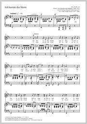 Felix Mendelssohn Bartholdy: Ich harrete des Herrn