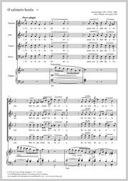 Edward Elgar: O salutaris hostia